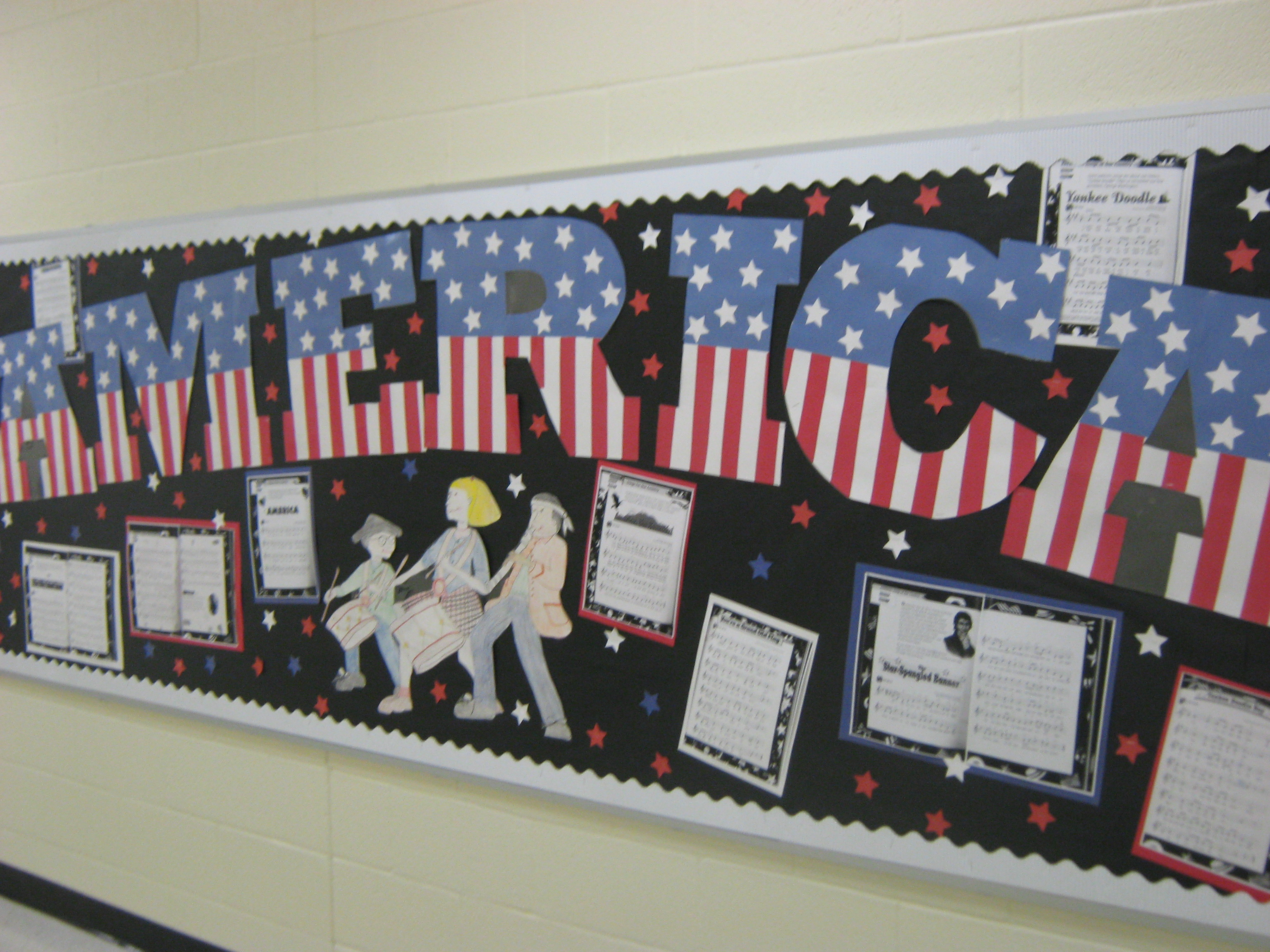 Classroom Bulletin Design ~ Planning for bulletin boards all the passion of music